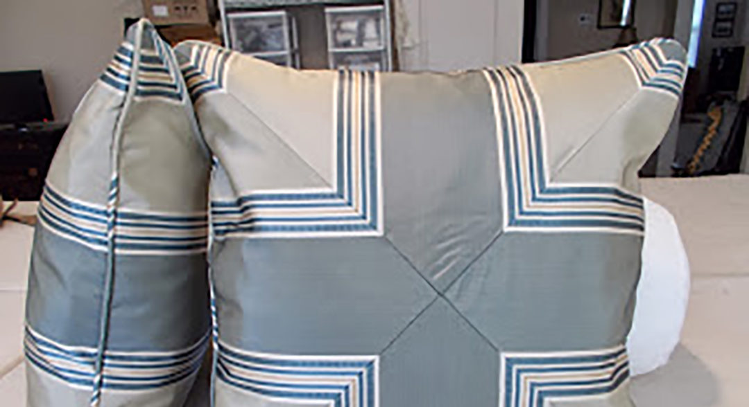 Chevron Striped Pillows